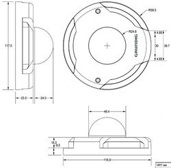 Купольная IP-камера GCI-K0512W