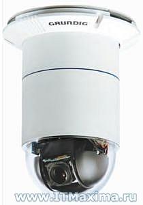 Купольная камера наблюдения GCA-C0335P фирмы Grundig (Германия)