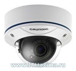 Купольная камера наблюдения GCA-B3323V фирмы Grundig (Германия)