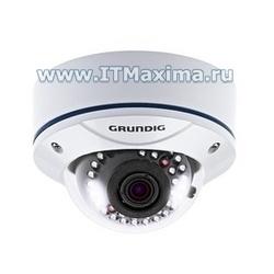 Купольная камера наблюдения GCA-B3326V фирмы Grundig (Германия)