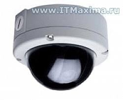 Цветная вандалозащищенная купольная камера HTC-11H/3.5-8.5