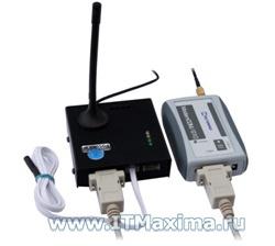 Комплект сетевого GSM термометра с функцией сбора и хранения данных