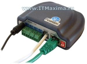 SNMP термометр с цифровыми входами Poseidon 3266 HW-group (Чехия)