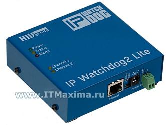 Устройство контроля работоспособности IP WatchDog2 Lite Plain HW-group