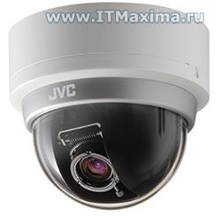 Вандалозащищенная купольная IP-камера VN-H257U JVC (Япония)