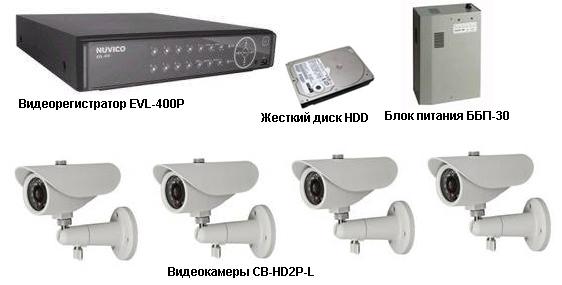 Система видеонаблюдения NUVICO для дачи