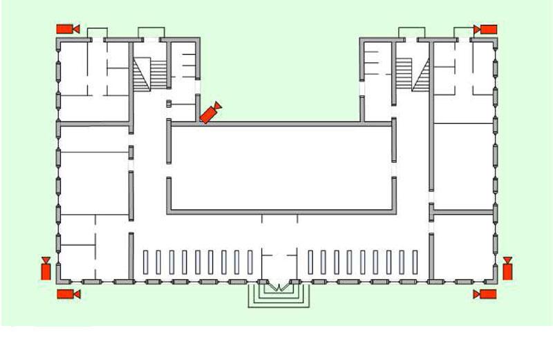 Схема наблюдения школа