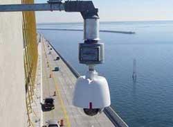 Обслуживание видеокамер, расположенных на большой высоте